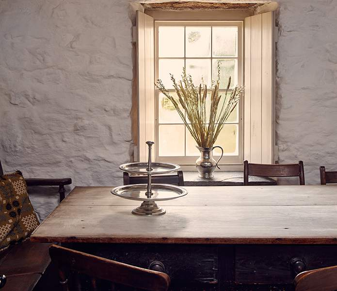 Pure & simple - minimalism at Bryn Eglur, The Welsh House, Carmarthenshire