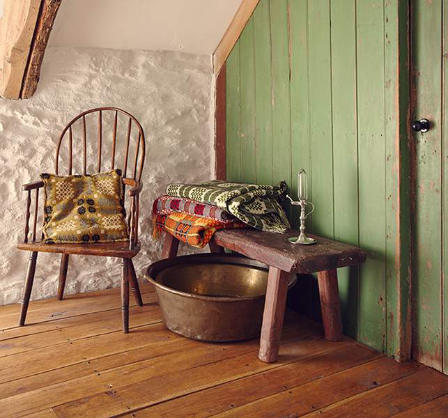 Rustic detailing at Bryn Eglur - The Welsh House, Carmarthenshire