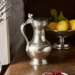 Perfectly placed pewter; elegant & contemporary at Bryn Eglur, The Welsh House, Carmarthenshire