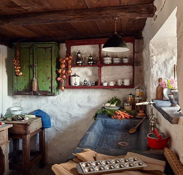Reconstructed rural realism at Ty Unnos - The Welsh House, Carmarthenshire
