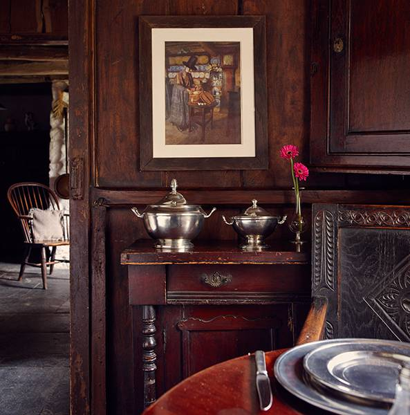 Elegance & rusticity at Bryn Eglur, The Welsh House, Carmarthenshire